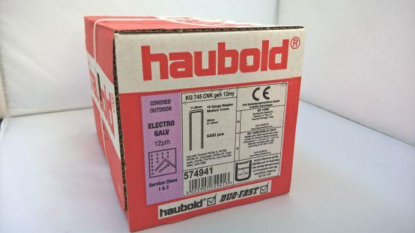 Haubold Klammern KG 745 CNK/H - 5400 Stück