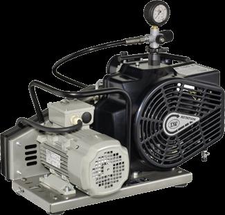 Kompressor MLW 60 E Automatik 330 bar