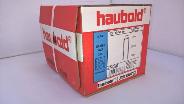 Haubold Klammern KG 730 CNK/H - 7500 Stück