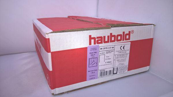 Haubold Klammern BK 2575 CNK/H - 3100 Stück