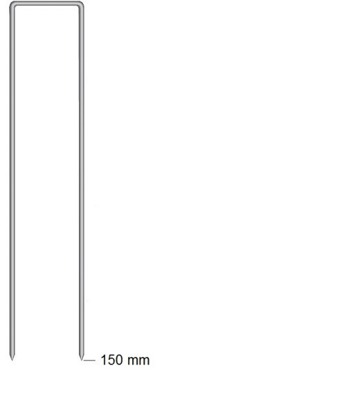 Haubold Klammern BS 29150 CRF - 960 Stück