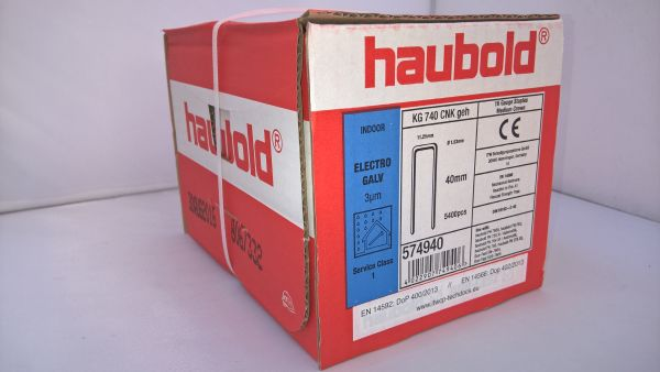 Haubold Klammern KG 740 CNK/H - 5400 Stück