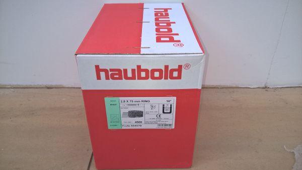 Haubold Nägel RNCW 28/75 Rille - 4500 Stück