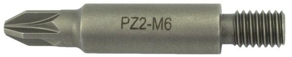 Bit Magazinschrauber Holzher M6 Pozi Drive PZ-2