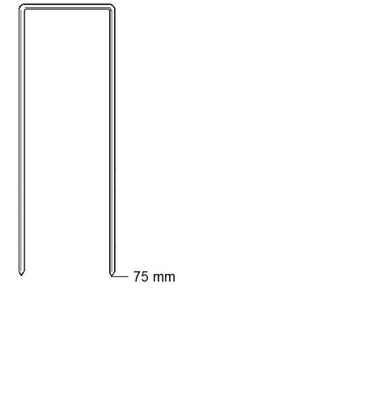 Haubold Klammern BK 2575 CRF - 3100 Stück