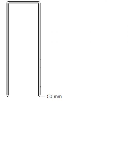 Haubold Klammern BK 2550 CRF - 4680 Stück