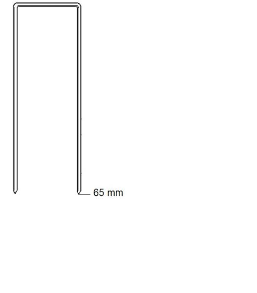 Haubold Klammern BK 2565 CRF - 3500 Stück