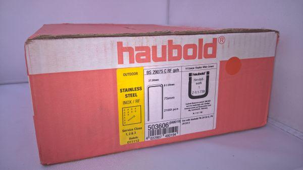 Haubold Klammern BS 29075 CRF - 2160 Stück
