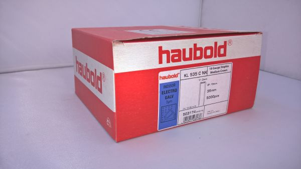 Haubold Klammern KL 535 CNK/H - 5000 Stück