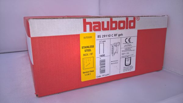 Haubold Klammern BS 29110 CRF - 1600 Stück