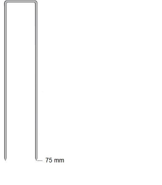 Haubold Klammern BS 29075 CNK/H 12Mü - 2160 Stück