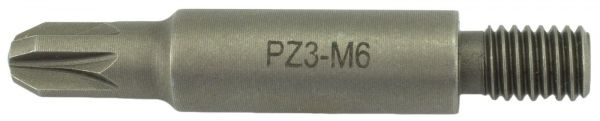 Bit Magazinschrauber Holzher M6 Pozi Drive PZ-3