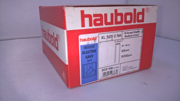 Haubold Klammern KL 525 CNK/H - 5000 Stück