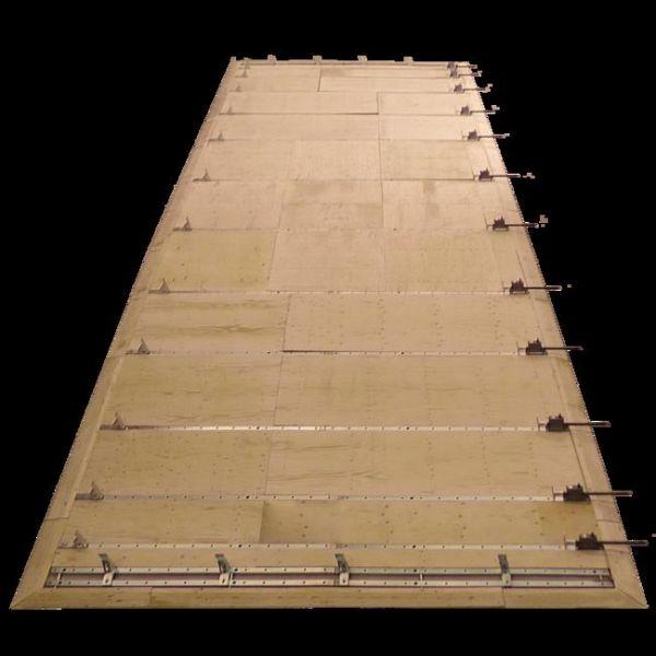 Der flachste Holzrahmenbautisch nur 3 cm hoch