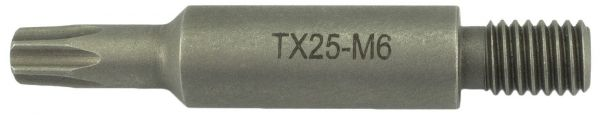 Bit Magazinschrauber Holzher M6 Torx Tx-25