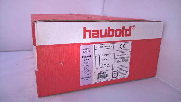 Haubold Klammern BS 29100 CNK/H - 1600 Stück