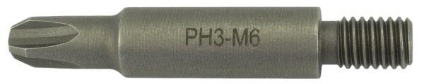 Bit Magazinschrauber Holzher M6 Philips PH-3