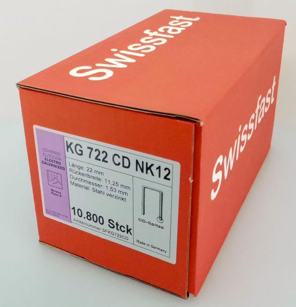 KG722CDNK Klammern 22mm