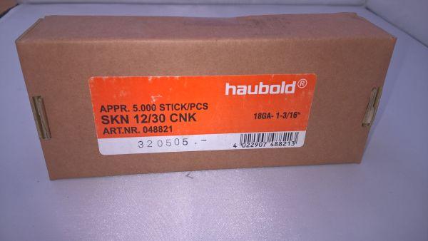 Paslode FN 18/30CNK, Haubold 12x30mm - 5000 Stück