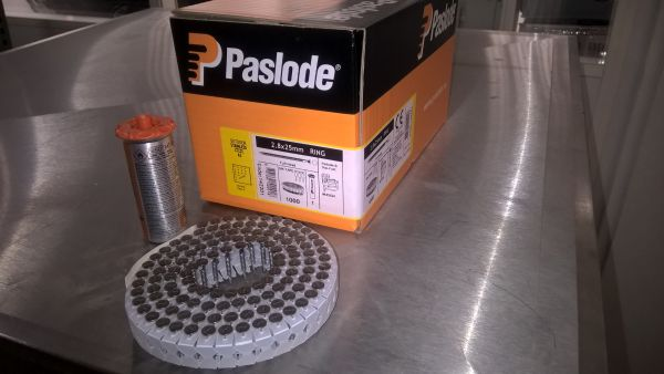 Paslode RNC-S 2,8x25 Ring RF inkl. Gas