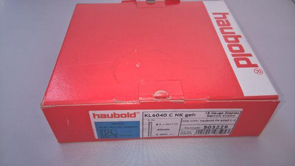 Haubold Klammern KL 6040 CNK/H - 5000 Stück